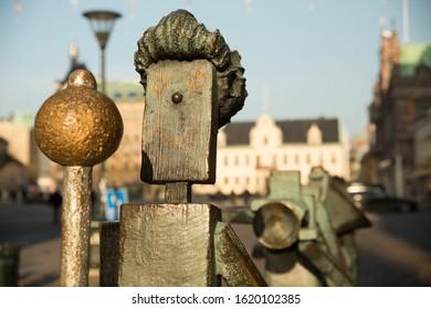 Metal Urban Street Sculpture in Sweden