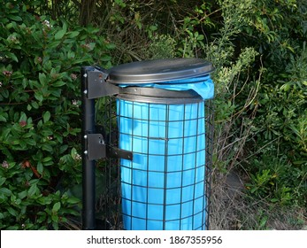metal-waste-container-blue-rubbish-260nw