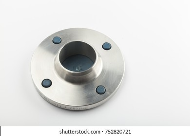 metal water valve fittings on a white background