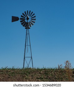 Metal Windmill Farm Country Stock Photo Edit Now 1534689020