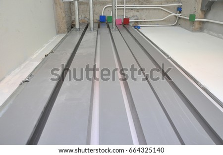 Magnificent Metal Wire Way On Wall Electrical Stock Photo Edit Now 664325140 Wiring 101 Orsalhahutechinfo