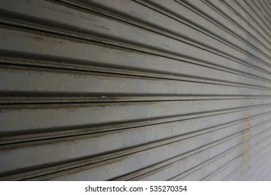 metallic background ,fragment of steel door