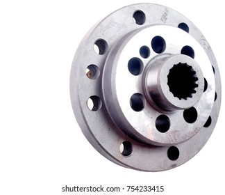 Metallic finish steel flanges for auto.