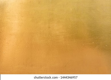 Metallic foil shiny Gold surface texture for wall paper background use