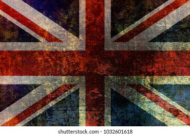 Metallic UK flag