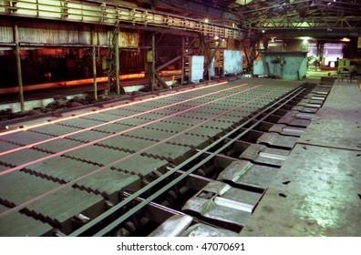 metallurgy industry. Metallurgical furnace. Rustless process