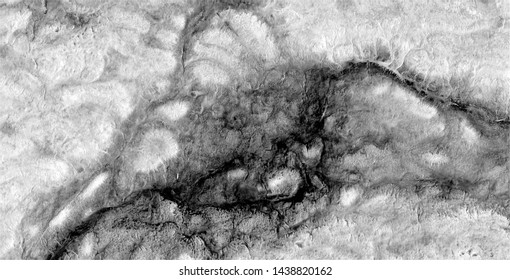 metastasis, black gold, polluted desert sand, black and white photo, abstract photography of the deserts of Africa from the air, aerial view, abstract expressionism, contemporary photographic art,