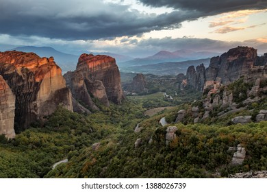 Meteora , great landscape og greece