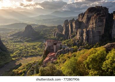 Meteora , great landscape og greece