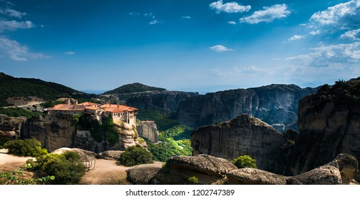 Meteora monasteries and nature views
