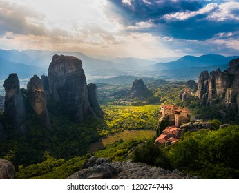 Meteora monasteries and nature views