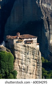 Meteora - monasteries of meteora, world heritage UNESCO, Greece