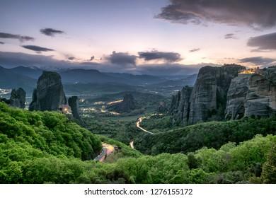 Meteora, Northern Greece, Kalabaka, Europe