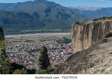 """Meteora"" rocks at central Greece"