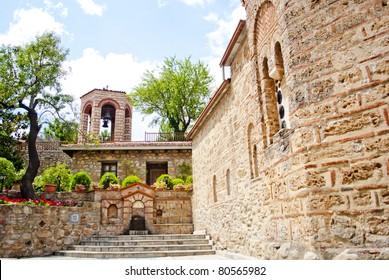 METEORA-Inside of monastery