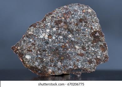 Meteorite stone chondrite NWA 11344 - a primitive type L3-4