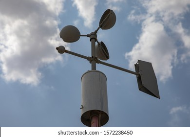 meteorology stuffs to monitor climatic  conditions - Shutterstock ID 1572238450
