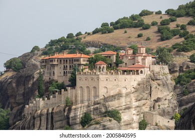 Meteors, Greece. Natural and architectural views.