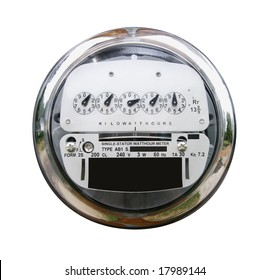 Meter with clipping path.