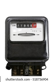 meter for measuring the electric power consumed