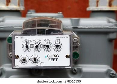 Meter Reading Cubic Feet