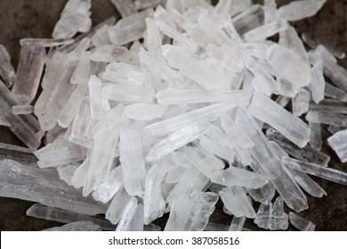 Methamphetamine also known as crystal meth
