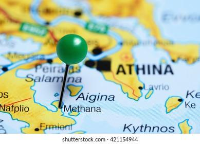 Nafplio Pinned On Map Greece Stock Photo Edit Now 368899700