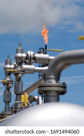 methane gas treatment plant, production and distribution