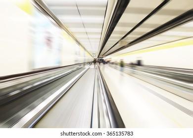 Metro Subway blurred background
