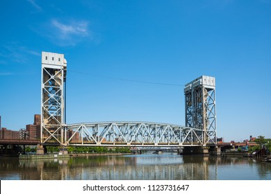 The Metro-North's Harlem River Lift Bridge is a vertical lift bridge for all Metro-North trains to/from Grand Central Station. Officially name is Park Avenue (Metro-North) Railroad Bridge.