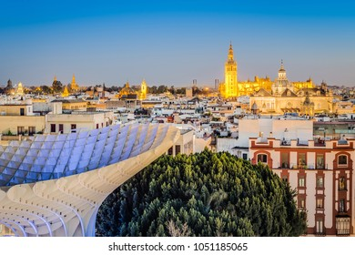 The Metropol Parasol (officially called Setas de Sevilla) is a structure in the shape of a pergola made of wood and concrete located in the city of Seville, in Andalusia, Spain.