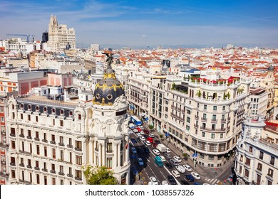Metropolis Building or Edificio Metropolis is an office building at the corner of the Calle de Alcala and Gran Via in Madrid, Spain