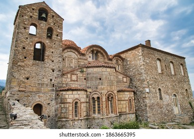 Metropolis of Mystras  is the metropolitan church, built in the second half of the 13th century