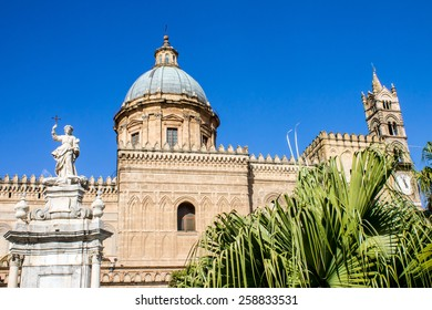 Metropolitan Cathedral of the Assumption of Virgin Mary in Palermo, Italy