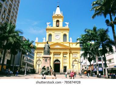 Metropolitan Cathedral of Campinas, Brazil - November 23 2017