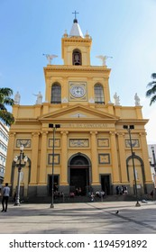 Metropolitan Cathedral (Our Lady of Conception) in Campinas, Brazil