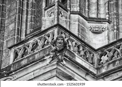 The Metropolitan Cathedral Prague - gargoyle