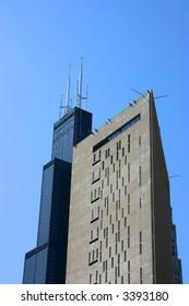 Metropolitan Correctional Center and Sears tower, Chicago