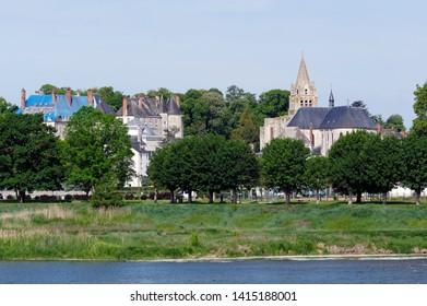 Meung sur Loire castle in centre-Val de Loire region