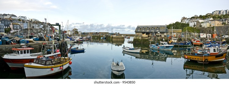 Mevagissey Harbour, Panorama