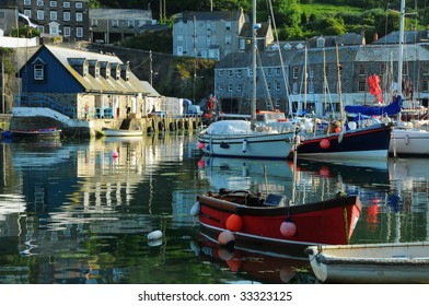 mevagissey harbour,cornwall,england