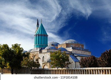 Mevlana Celaddiin-i Rumi Mosque and Tomb in Konya, Turkey