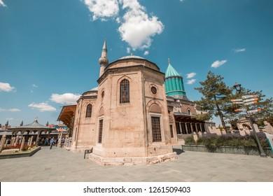 Mevlana Celaleddin Rumi Tomb and Museum, Konya Turkey