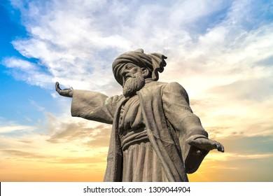 Mevlana Rumi, whirling dervish