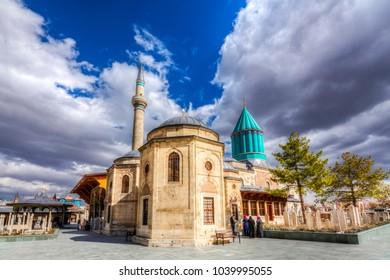 Mevlana Tomb and Mosque in Konya City
