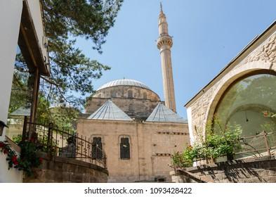 Mevlevi (Turbe) Mosque, Afyonkarahisar in Turkey