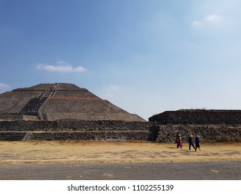 Mexican archaeological site, world heritage site