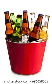 Mexican beer ice bucket