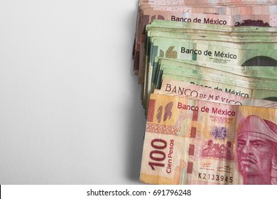 Mexican Bills, Mexican Money, Horizontal, right side