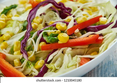 Mexican Coleslaw, Spicy Mexican Cabbage Slaw